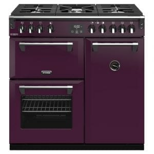 Stoves RICHMOND DX S900GCBWBE Richmond 900mm Gas Range Cooker – PURPLE