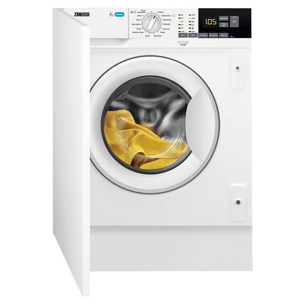 Zanussi Z814W85BI 8kg Integrated Washing Machine 1400rpm