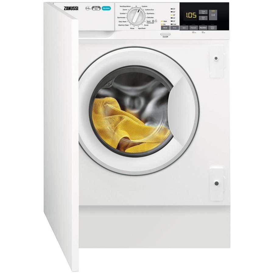 Zanussi Z816WT85BI 8kg/4kg Fully Integrated Washer Dryer - WHITE