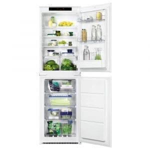 Zanussi ZBB27650SV 178cm Integrated 50/50 Frost Free Fridge Freezer