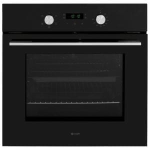 Caple C2234BK Built In Single Fan Oven – BLACK