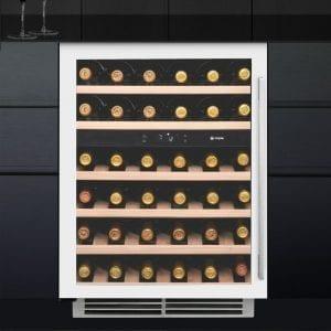 Caple WI6134WH 60cm Undercounter Dual Zone Wine Cooler – WHITE