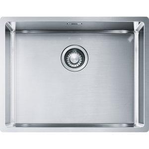 Franke BXX110-54 Box Single Bowl Undermount Sink – STAINLESS STEEL