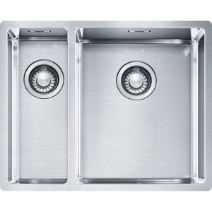 Franke BXX160 34-16 Box 1.5 Bowl Undermount Sink Left Hand Small Bowl – STAINLESS STEEL