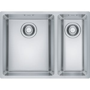 Franke MRX160 34-19 RHSB Maris 1.5 Bowl Undermount Sink Right Hand Small Bowl – STAINLESS STEEL