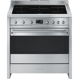 Smeg A1PYID-9 90cm Opera Pyrolytic Induction Range Cooker – STAINLESS STEEL