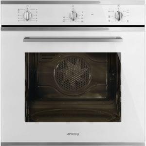 Smeg SF64M3VB Cucina Multifunction Single Oven – WHITE