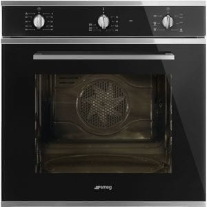 Smeg SF64M3VN Cucina Multifunction Single Oven – BLACK