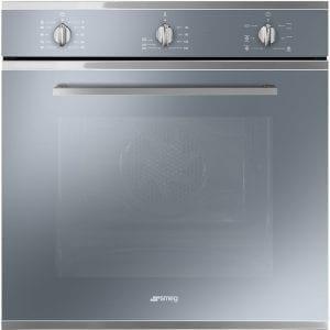 Smeg SF64M3VS Cucina Multifunction Single Oven – SILVER