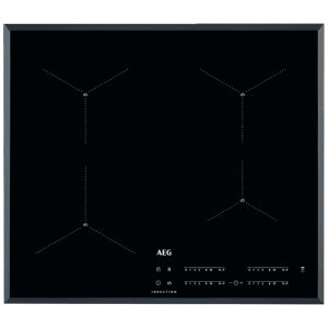AEG IAE64411FB 60cm 4 Zone MaxiSense Induction Hob – BLACK