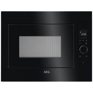AEG MBE2658SEB 60cm Built In Microwave For Tall Housing – BLACK