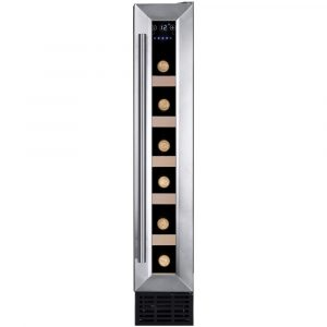 Amica AWC150SS 15cm Freestanding Under Counter Wine Cooler – STAINLESS STEEL