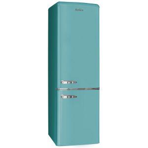 Amica FKR29653DEB 55cm Retro Fridge Freezer – BLUE