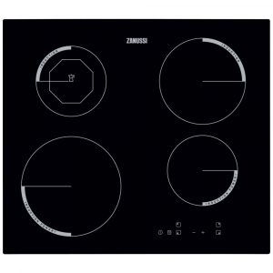Zanussi ZEI6840FBA 59cm Induction Hob 13 Amp – BLACK