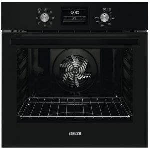 Zanussi ZOB35471BK Built In Single Fan Oven – BLACK