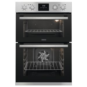 Zanussi ZOD35802XK Built In Multifunction Double Oven – STAINLESS STEEL