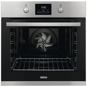 Zanussi ZOP37982XK Built In Pyrolytic Single Multifunction Oven – STAINLESS STEEL