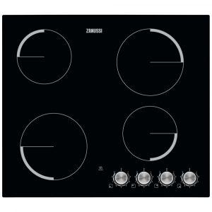 Zanussi ZV694NK 59cm Frameless Ceramic Hob – BLACK