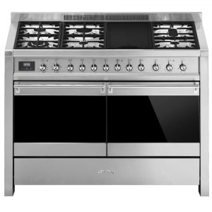 Smeg A4-81 120cm 'Opera' Dual Fuel Range Cooker – STAINLESS STEEL