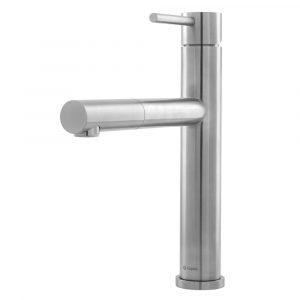 Caple ATLP/SS Atlanta Single Lever Pull-Out Hose Tap – STAINLESS STEEL