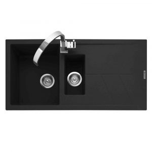 Caple SOT150AN Sotera 150 1.5 Bowl Inset Sink Reversible Drainer – ANTHRACITE