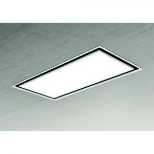 Elica SKYDOME30 100cm Ceiling Extractor 30cm Deep – WHITE