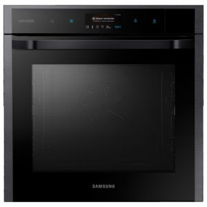 Samsung NV73N9770RM Built In Pyrolytic Vapour Cook Single Oven – BLACK