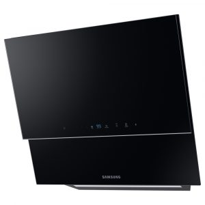 Samsung NK24N9804VB 60cm Chef Collection Angled Chimney Hood – BLACK