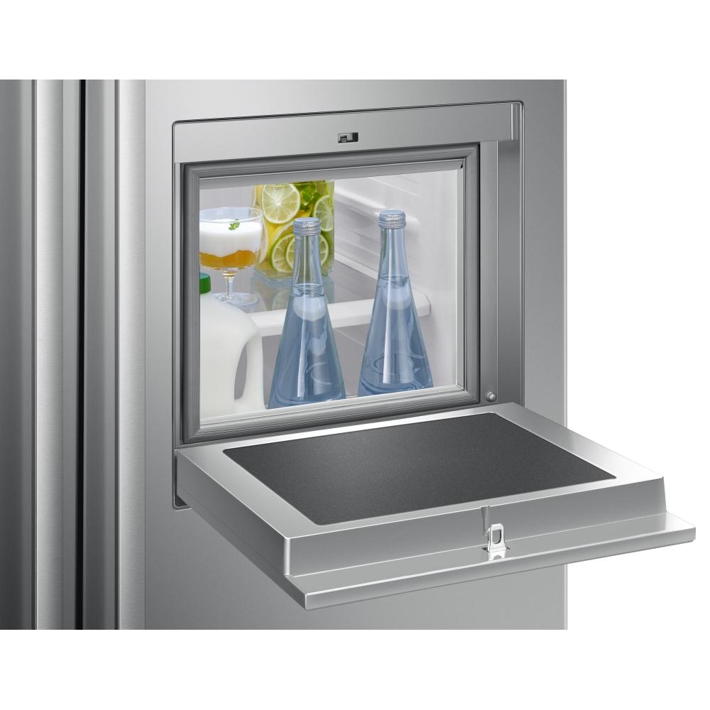 Samsung RS50N3913SL American Style Homebar Fridge Freezer With Ice & Water  - SILVER