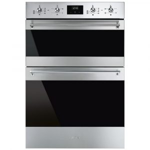 Smeg DOSF6300X Built In Classic Double Oven – STAINLESS STEEL