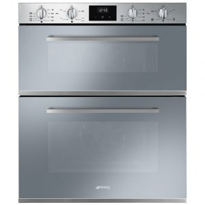 Smeg DUSF400S Built Under Cucina Double Oven – STAINLESS STEEL