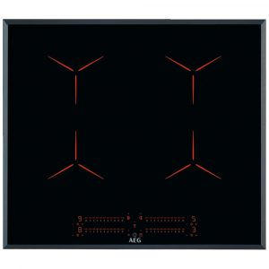 AEG IPE64551FB 60cm 4 Zone MaxiSense Induction Hob – BLACK