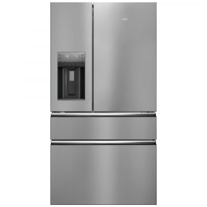 AEG RMB96716CX French Style Fridge Freezer With Ice And Water – STAINLESS STEEL