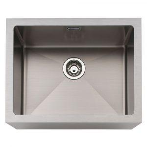 Caple BELSS Belfast 60cm Single Bowl Stainless Steel Sink – STAINLESS STEEL