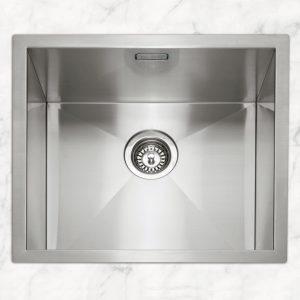 Caple ZERO45 Zero 45 Single Bowl Sink – STAINLESS STEEL
