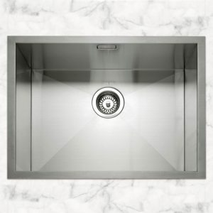 Caple ZERO55 Zero 55 Single Bowl Sink – STAINLESS STEEL