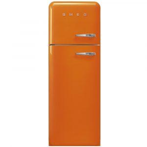 Smeg FAB30LOR3 Retro Fridge Freezer Left Hand Hinge – ORANGE
