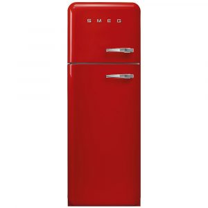 Smeg FAB30LRD3UK 60cm Retro Fridge Freezer Left Hand Hinge – RED