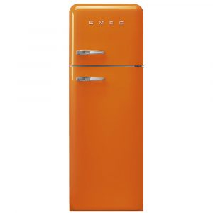 Smeg FAB30ROR3 60cm Retro Fridge Freezer Right Hand Hinge – ORANGE