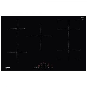 Neff T48FD23X2 80cm Frameless CombiZone Induction Hob – BLACK