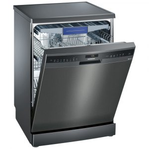 Siemens SN258B00NE IQ-500 60cm Freestanding Dishwasher – BLACK STEEL