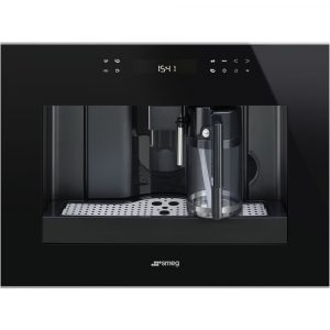 Smeg CMS4601NX Dolce Stil Novo Fully Automatic Built In Coffee Machine – BLACK