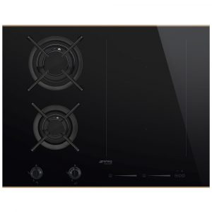 Smeg PM6721WLDX 75cm Dolce Stil Novo Mixed Induction And Gas Hob – STAINLESS STEEL