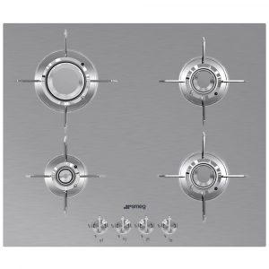 Smeg PXL664 60cm Dolce Stil Novo 4 Burner Gas Hob – STAINLESS STEEL