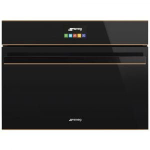 Smeg SF4604VCNR1 Dolce Stil Novo Compact Steam Combination Oven – BLACK