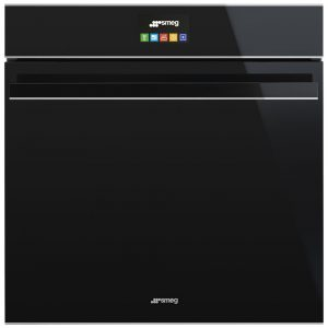 Smeg SFP6604NXE Dolce Stil Novo Pyrolytic Multifunction Single Oven – BLACK