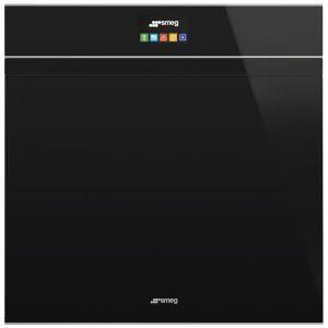 Smeg SFP6604PNXE Dolce Stil Novo Pyrolytic Multifunction Single Oven – BLACK