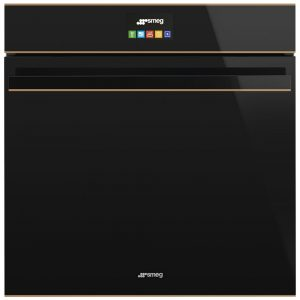 Smeg SFP6604STNR Dolce Stil Novo Pyrolytic Multifunction Steam Assist Oven – BLACK