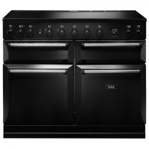 AGA Masterchef MDX110EIBLK Masterchef Deluxe 110cm Induction Range Cooker 121850 – BLACK