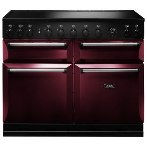 AGA Masterchef MDX110EICBY Masterchef Deluxe 110cm Induction Range Cooker 121860 – CRANBERRY